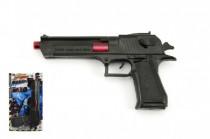 Pistole plast 25cm se zvukem