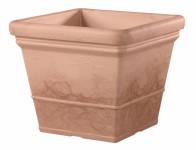 Flowerpot LISA plastic terracotta 40x40x34cm - VÝPREDAJ