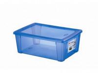 box úložný SCATOLA 10l, 36,5x25,5x14cm s vekom plastový, MO