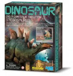 Dinosaurie kostra - Stegosaurus