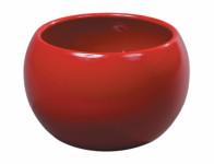 Obal na květník TITAN FIGARO L keramický červený d15x10cm