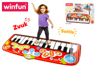 Piano Jumbo step-to-play 178x78 cm 24 kláves na baterie se světlem a zvukem