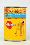 Pedigree konz. Junior - hydina 400 g