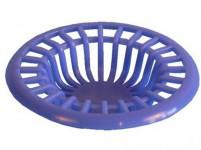 lapač nečistôt do umývadla pr.6,5cm plastový - mix farieb
