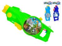 Vodné pištole so zvieratkom 48 cm - mix farieb