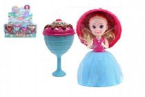Bábika / Gelato / Cupcake - zmrzlinový pohár plast 16cm voňajúce - mix variantov či farieb