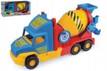 Auto Super Truck domíchávač Wader 53cm - mix barev
