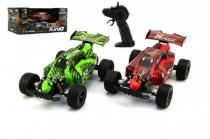 Auto RC Buggy plast 22cm s adaptérem na baterie - mix barev