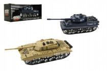 Tank plast 28cm na batérie so svetlom a zvukom - mix variantov či farieb