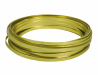 Drôt dekoračné hliníkový svetlo zelený 10m 5mm
