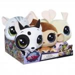 Littlest Pet Shop Duo plyšových zvířátek