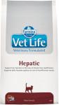 Vet Life Natural Feline Dry Hepatic 2 kg