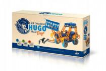 Mechanik Hugo stavia Bager Seva stavebnica s náradím 141ks plast