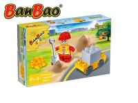 BanBao stavebnice Construction Young Ones figurka ToBees stavař s doplňky 4 ks