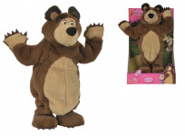 Máša a medvěd Plyšový tančíčí medvěd 35 cm