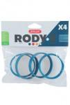 Komponenty Rody 3-spojovací krúžok modrý 4ks Zolux