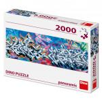 Puzzle 2000 dielikov: Grafitti panoramic