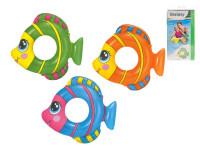 Kruh nafukovacie ryba 81x76 cm - mix farieb