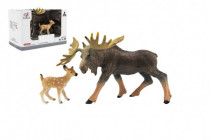 Zvieratká safari ZOO 12cm los plast
