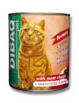 Dibaq Pet kočka konz. Srdce 810g