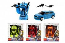 Transformer auto/robot plast 17cm - mix variant či barev