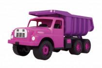 Auto Tatra 148 plast 73cm v krabici - ružová