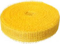 Jutová stuha 4 cm x 25 m - žltá