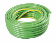 Hadice PROFAR 1/2 zelená se žlutými pruhy, bílá duše 20m