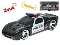 Ford GT polícia 20 cm 1:24 na zotrvačník na batérie so svetlom a zvukom