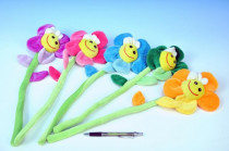 Květina plyš 45cm - mix barev
