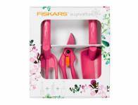 Set FISKARS RUBY nůžky + kultivátor + lopatka