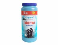 Tablety LAGUNA 6v1 multifunkční do bazénu 1,6kg