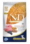 N & D LG DOG Puppy Mini Lamb & Blueberry 2,5kg