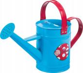 Detská konvička kovová modrá Stocker