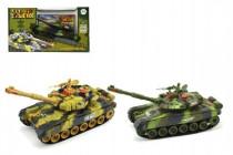 Tank RC plast 25cm s dobíjecím packem+adaptér - mix variant či barev