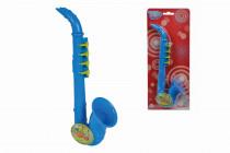 MMW Saxofon modrý 26 cm