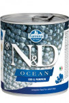 N & D DOG OCEAN Adult Codfish & Pumpkin 285g