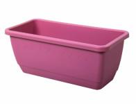 Truhlík INIS plastový ružový matný 80cm