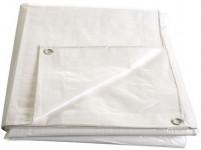 Plachta kašírovaná nepremokavá biela 140g / m2 - 4x5 m