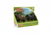 Zvieratká ZOO 2ks plast 6cm