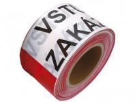 páska výstražná 75mmx250m VSTUP ZAKÁZANÝ, CRV-bi