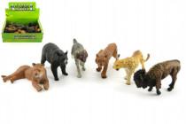 Zvieratká safari ZOO plast 10cm - mix variantov či farieb