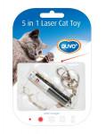 Hračka cat Laser dôvo + 5 v 1