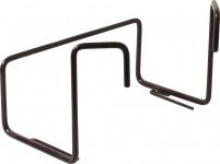 Držiak na truhlík balkón - kovový obyčajný hnedý