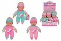 Bábika Tiny Laura 20 cm - mix variantov či farieb