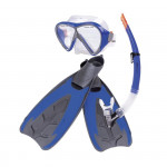 Spokey MERQUIS Sada brýle+šnorchl+ploutve XL 45-46