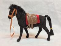 Koník semišový