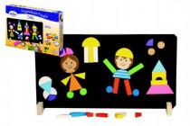 Děti magnetické puzzle