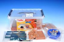 Stavebnica Teifoc School Set 320ks v plastovom boxe s úchytmi