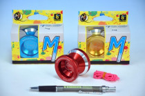 Jojo N8 - Dare to do 4,5x4cm hliník/kov s ložiskem - mix barev